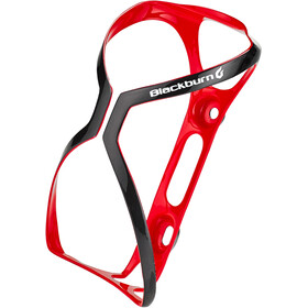 Blackburn Cinch Carbon Bidonhouder, gloss red